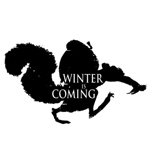 t-shirt Scrat – Winter is coming