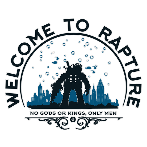 t-shirt Welcome to Rapture