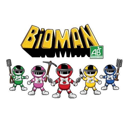 t-shirt Bioman – Agriculteur bio