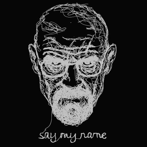 t-shirt Say my name – Heinsenberg
