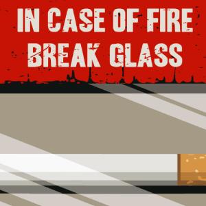zoom t-shirt En cas d'incendie… geek original