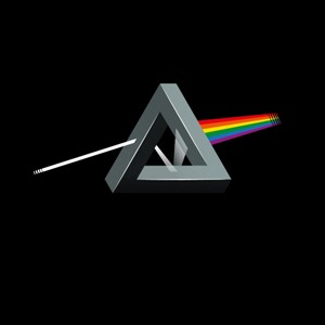 dessin t-shirt Dark side on the Moon, Pink Floyd geek original