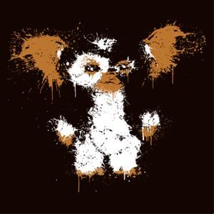 dessin t-shirt Gizmo le gentil gremlins geek original
