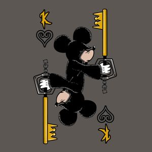 dessin t-shirt Mickey Kingdom Heart geek original