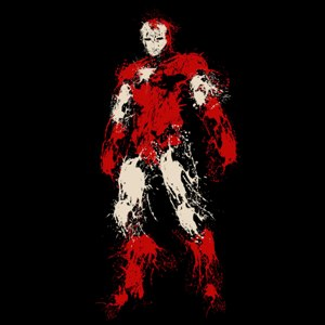 dessin t-shirt Iron man geek original