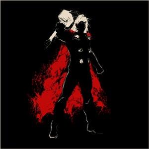 dessin t-shirt T-shirt Thor geek original