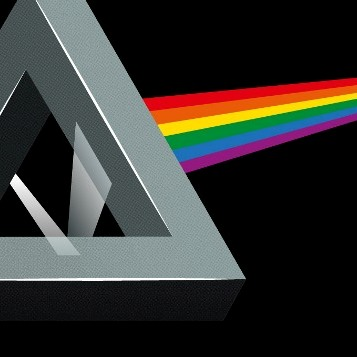 zoom t-shirt Pink floyd Dark Side geek original