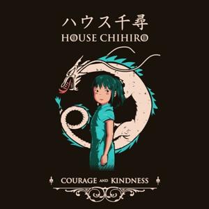 dessin t-shirt Chihiro geek original