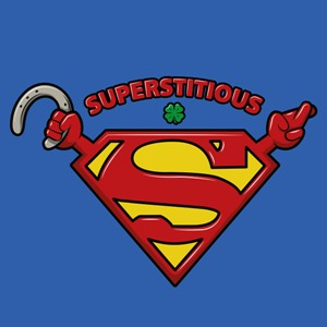 dessin t-shirt Superstitieux geek original