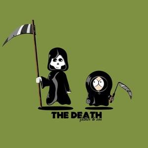 dessin t-shirt Kenny est mort geek original