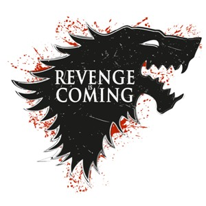 dessin t-shirt Winter is coming..with revenge. geek original