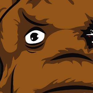zoom t-shirt Terminator le Mammouth geek original