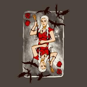 dessin t-shirt La reine Khaleesi geek original