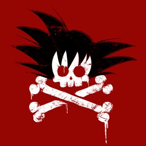 dessin t-shirt Sangoku est mort geek original