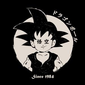 dessin t-shirt Anniversaire Songoku : 30 ans geek original