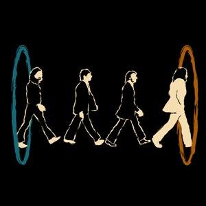 dessin t-shirt Les Beatles dans le portal geek original