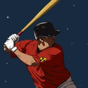 zoom t-shirt Base Ball Nucléaire geek original
