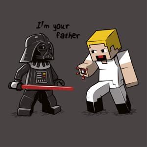 dessin t-shirt Je suis ton père geek original