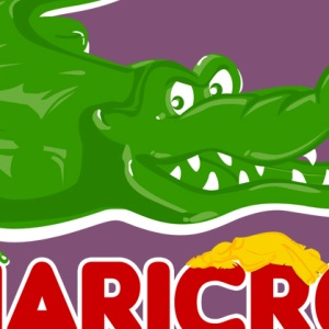 zoom t-shirt Haribo, j'ai les crocs geek original