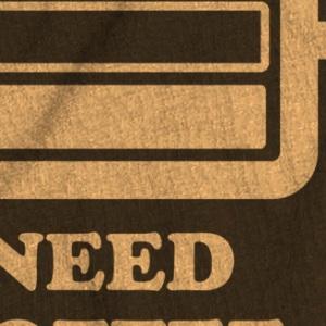 zoom t-shirt Besoin de café geek original