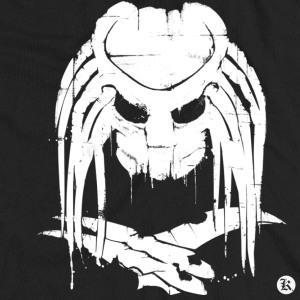 dessin t-shirt Alien Predator geek original