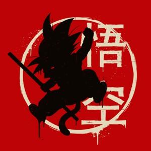 dessin t-shirt Goku Jump geek original