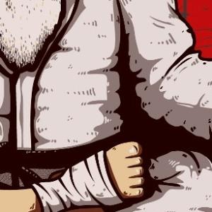 zoom t-shirt Maître des arts martiaux geek original