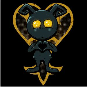 dessin t-shirt Kingdom Heart – Heartless geek original