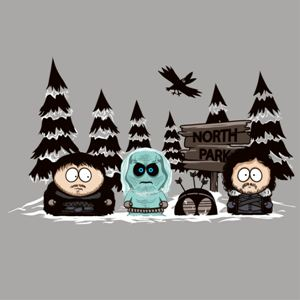 dessin t-shirt North Park geek original