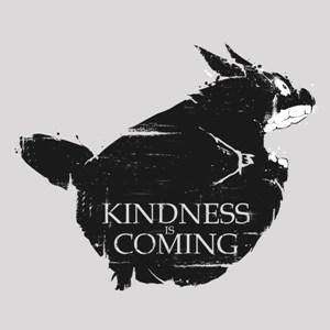 dessin t-shirt Totoro volant geek original