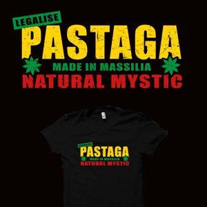 dessin t-shirt Légalise le Pastaga geek original