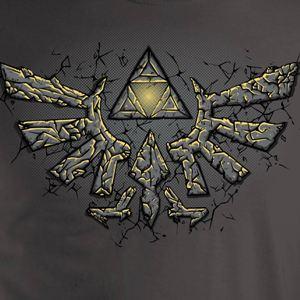 dessin t-shirt Zelda geek original