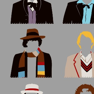 zoom t-shirt 12 Docteurs geek original