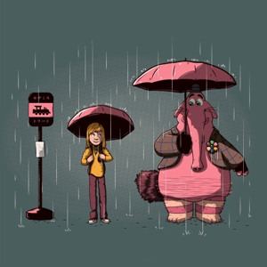 dessin t-shirt Vice Versa Totoro geek original