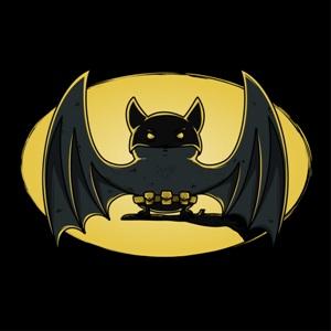 dessin t-shirt Chauve souris geek original