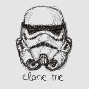 dessin t-shirt Stormtrooper geek original