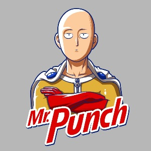 dessin t-shirt One punch man geek original