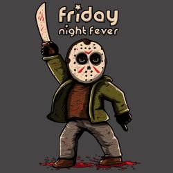 t-shirt Jason – La fièvre du vendredi soir