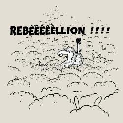 t-shirt Mouton rebelle