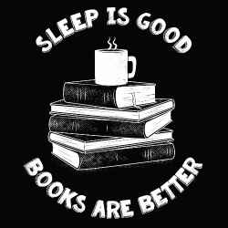 t-shirt Sleep is good – livre