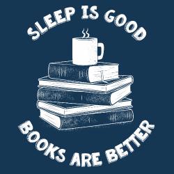 t-shirt Sleep is good – livre