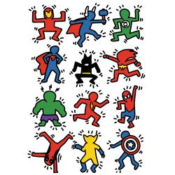 t-shirt Superheroes – Super Haring