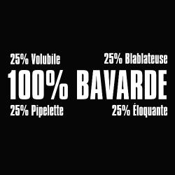 t-shirt Bavarde