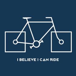 t-shirt Vélo – I can ride