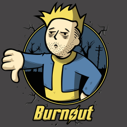 t-shirt Fallout – Burnout