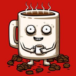 t-shirt Mug Café