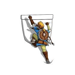 Zelda escalade