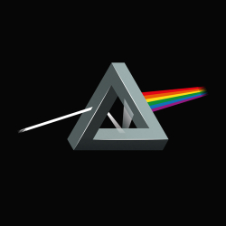 Dark side on the moon impossible