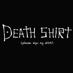 t-shirt Death Note – Death Shirt