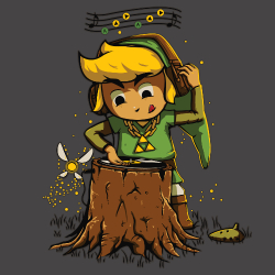 t-shirt DJ Link – Zelda party